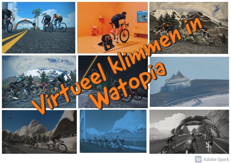 Virtueel klimmen in Watopia