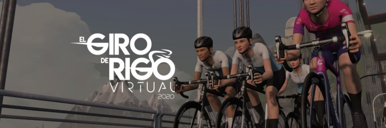 El giro de Rigo virtueel - fiets winnen op Zwift
