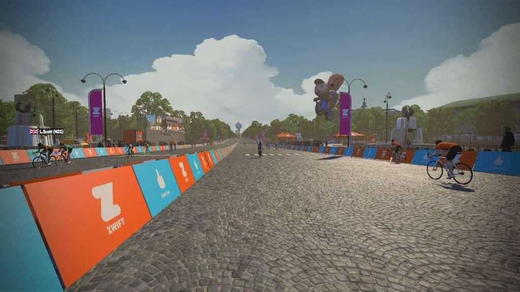 Route in Zwift Parijs - Race in Parijs