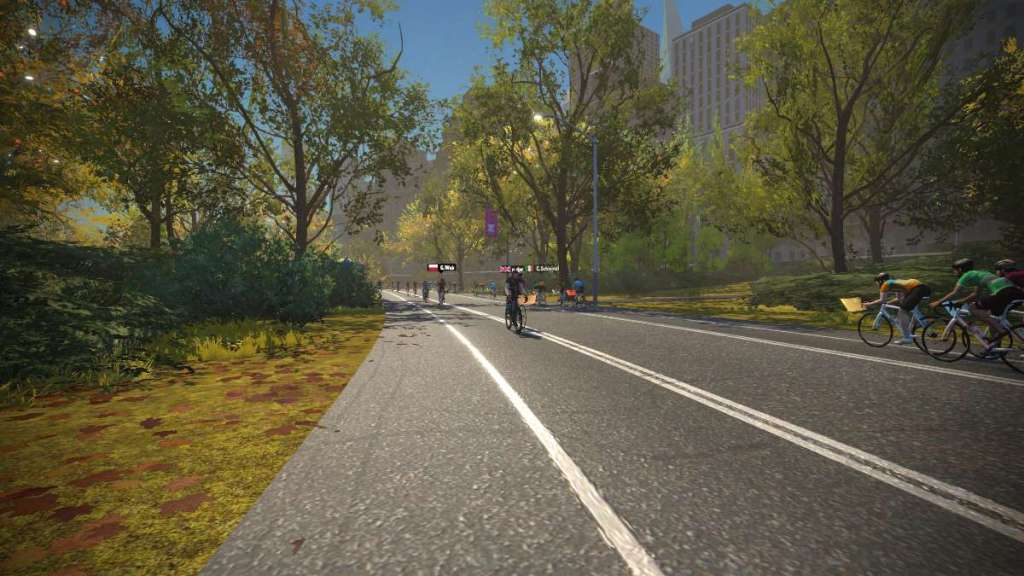 New York in Zwift route The 6 Train