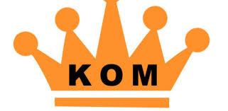 Strava KOM of QOM - segmenten van Strava