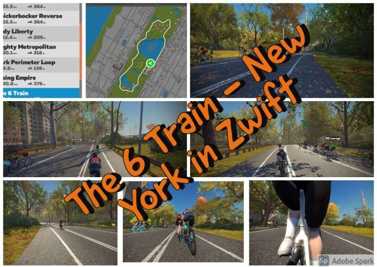 The 6 Train - New York in Zwift