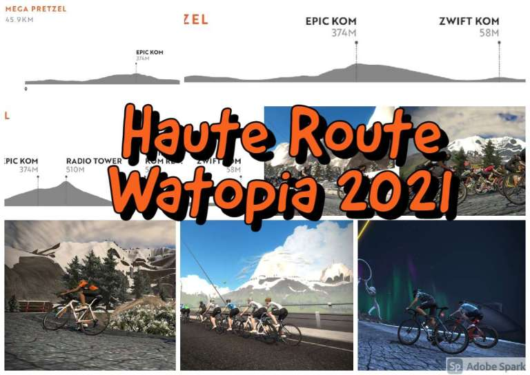 Haute Route Watopia 2021