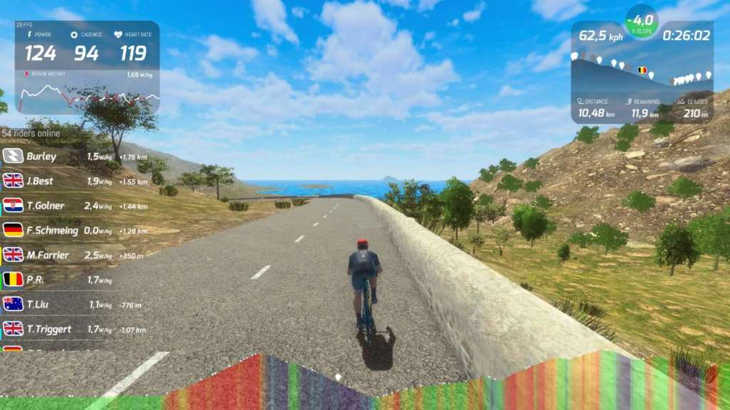onderweg naar de Cap de Formentor in RGT