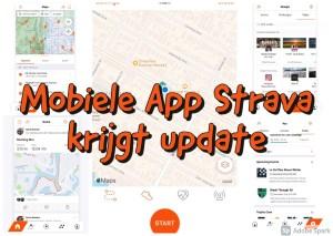 Mobiele App Strava krijgt update