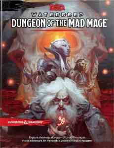 image of Waterdeep Dungeon of the Mad Mage book cover