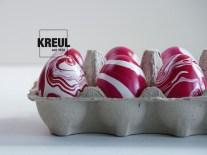 Ei-Dye: marmorierte Eier