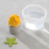Eierwärmer-Blüten aus Modellierfilz