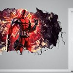 Deadpool-Smashed-3D-Wall-Decal-Mural-Art-Kids-Boy-Smash-Home-Decor-Removable-Sticker-Vinyl-Character-Movie-WW08-0-0