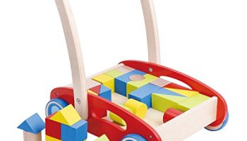 Toys For 1 Year Old : Wooden baby learning walker toddler toys for 1 year old blocks and