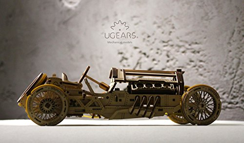 S.T.E.A.M. Line Toys UGears Mechanical Models 3-D Wooden