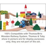 100-Piece-Orbrium-Toys-Triple-Loop-Wooden-Train-Set-Fits-Thomas-Brio-Chuggington-0-0