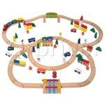 100-Piece-Orbrium-Toys-Triple-Loop-Wooden-Train-Set-Fits-Thomas-Brio-Chuggington-0