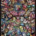 1000-Piece-Jigsaw-Puzzle-Disney-Disney-Pixar-Heroine-Collection-Stained-Glass-Pure-White-51-x-735-cm-0