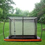 10ft-x-75ft-In-ground-Rectangular-Trampoline-with-Patented-Safety-Net-Cable-Wire-Enclosure-System-European-Design-0-0