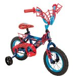 12-Marvel-Spider-Man-Boys-Bike-by-Huffy-Ages-3-5-Height-37-42-BlueRed-0