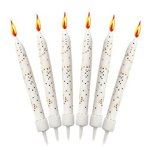 12-White-Glitter-Cake-Candles-with-Holders-by-Cake-Supplies-0