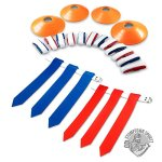 14-Player-Flag-Football-Set-with-3-Flags-per-Belt-Includes-12-Field-Cones-and-Mesh-Bag-Premium-68-Piece-Heavy-Duty-Kit-0