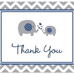 50-Cnt-Navy-Chevron-Elephant-Baby-Thank-You-Cards-0-1