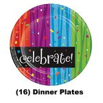 70th-Birthday-Party-Supply-Kit-for-16-guests-Bundle-Includes-Dinner-Plates-Dessert-Plates-Napkins-and-Birthday-Sash-0-2