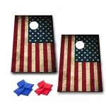 American-Flag-Cornhole-Game-Patriotic-Bag-Toss-Game-8-Bags-included-Wooden-Boards-0