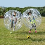 Anfan-1215M-Inflatable-Bumper-Ball-256-in-Diameter-Bubble-Soccer-Ball-Transparent-Material-Human-Knocker-Ball-Zorb-Ball-for-Adults-and-Child-0-0