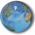 Aqua-Crystal-Earth-Sphere-with-Natural-Earth-Continents-Glass-Stand-Included-2-Inch-Diameter-0