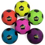 Atomic-Athletics-6-Pack-of-Neon-Rubber-Playground-Soccer-Balls-Youth-Size-4-8-Balls-with-Air-Pump-and-Mesh-Storage-Bag-by-K-Roo-Sports-0