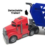 BOLEY-5-in-1-Big-Rig-Hauler-Truck-Carrier-Toy-Complete-Trailer-with-Construction-Toy-Signs-and-Monster-Jam-Trucks-Great-Toy-For-Boys-Girls-Who-Like-Vehicle-Playsets-Toy-Trucks-and-Toy-Cars-0-0