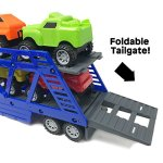 BOLEY-5-in-1-Big-Rig-Hauler-Truck-Carrier-Toy-Complete-Trailer-with-Construction-Toy-Signs-and-Monster-Jam-Trucks-Great-Toy-For-Boys-Girls-Who-Like-Vehicle-Playsets-Toy-Trucks-and-Toy-Cars-0-1