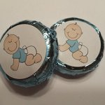 Baby-Shower-Favors-Chocolate-Covered-oreo-Cookies-baby-Boy-Blue-Foil-and-Label-24-pcs-0-0