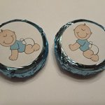 Baby-Shower-Favors-Chocolate-Covered-oreo-Cookies-baby-Boy-Blue-Foil-and-Label-24-pcs-0