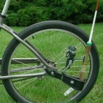 Beach-Cruiser-Bike-Caddy-Sports-Equipment-Chair-Holder-Accessory-0-1