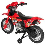 Best-Choice-Products-6V-Electric-Kids-Ride-On-Motorcycle-Dirt-Bike-W-Training-Wheels-Red-0-2