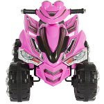 Best-Choice-Products-Pink-Kids-Ride-On-ATV-Quad-4-Wheeler-12V-Battery-Electric-Power-Led-Lights-Music-0-0