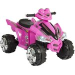 Best-Choice-Products-Pink-Kids-Ride-On-ATV-Quad-4-Wheeler-12V-Battery-Electric-Power-Led-Lights-Music-0