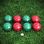 Bocce-Ball-Set-Outdoor-Family-Bocce-Game-for-Backyard-Lawn-Beach-and-More-Red-and-Green-Balls-Pallino-and-Equipment-Carrying-Case-0-2