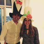Bride-and-Groom-Hats-Handmade-Engagement-Props-Wedding-Hats-Photo-Booth-Props-by-West-Coconut-0-2