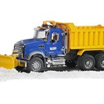 Bruder-MACK-Granite-Dump-Truck-with-Snow-Plow-Blade-0-1