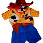 Build-a-Bear-Woody-Costume-3-pc-Teddy-Size-Toy-Story-Cowboy-Outfit-0