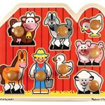 Bundle-Includes-2-Items-Melissa-Doug-Farm-Animals-Jumbo-Knob-Wooden-Puzzle-and-Melissa-Doug-First-Shapes-Jumbo-Knob-Wooden-Puzzle-0-1