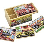 Bundle-Includes-2-Items-Melissa-Doug-Magnetic-Car-Loader-Wooden-Toy-Set-With-4-Cars-and-1-Semi-Trailer-Truck-and-Melissa-Doug-Vehicles-4-in1-Wooden-Jigsaw-Puzzles-in-a-Storage-Box-48-pcs-0-1