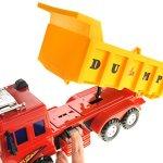 CHIMAERA-Heavy-Duty-Classic-Friction-Powered-Dump-Truck-Kids-Toys-0-2