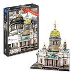 CHIMAERA-Saint-Isaacs-Cathedral-3D-Puzzle-St-Petersburg-Russia-105-pcs-0