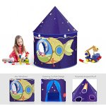 Children-Play-Tent-Premium-Space-Castle-Pop-Up-Kids-Playhouse-by-Wonder-Space-Comes-with-Carrying-Case-Best-Christmas-Indoor-Outdoor-Gift-for-Boys-and-Girls-0-1