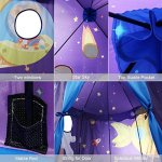 Children-Play-Tent-Premium-Space-Castle-Pop-Up-Kids-Playhouse-by-Wonder-Space-Comes-with-Carrying-Case-Best-Christmas-Indoor-Outdoor-Gift-for-Boys-and-Girls-0-2