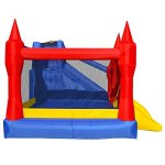 Cloud-9-Mighty-Bounce-House-Inflatable-Royal-Slide-Jump-Castle-with-Blower-0-0