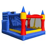 Cloud-9-Mighty-Bounce-House-Inflatable-Royal-Slide-Jump-Castle-with-Blower-0-2