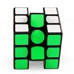 Coogam-Gan-356-Air-UM-Ultimate-Magnetic-Speed-Cube-3×3-Black-Gans-356Air-UM-Puzzle-Cube-with-Purple-GES-SpringUltimate-Magnetic-Version-0-1