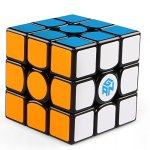 Coogam-Gan-356-Air-UM-Ultimate-Magnetic-Speed-Cube-3×3-Black-Gans-356Air-UM-Puzzle-Cube-with-Purple-GES-SpringUltimate-Magnetic-Version-0